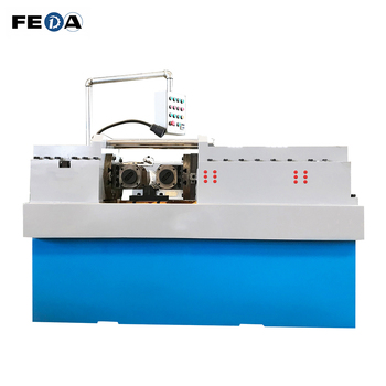 FEDA automatic wood screw making machine screw machine 63T thread rolling machine