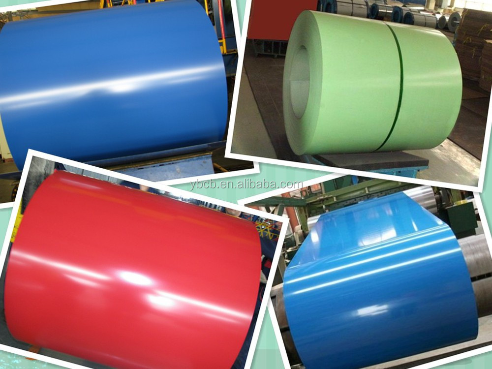 Prepainted Galvanized Steel Coil with Many Colors/PPGI Roofing Sheet