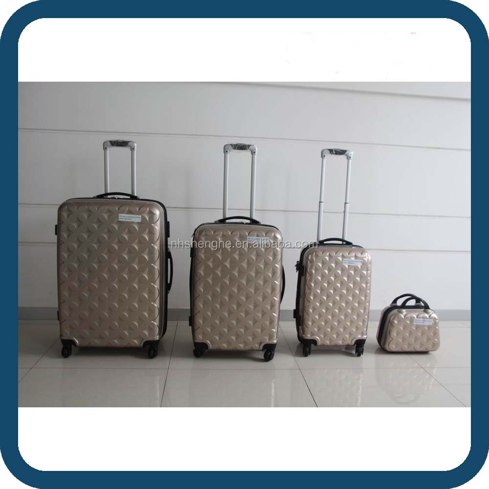 Luggage Trolley Case/ABS+PC Luggage Trolley/Hard Travel Suitcase Luggage with Scale