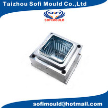 plastic flower pot injection moulding