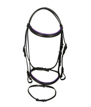 Hourse Reins,Horse Racing Bridle W/ Rubber Reins High Quality PVC Crafted by experienced Horsemen Lots of Vibrant Colors