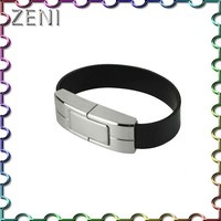 Wholesales leather 128M/256M/512M /1G/2G/4G/8G/16/32G usb flash drive bracelet