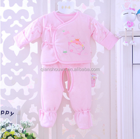 fashion 100% organic cotton baby clothes infant toddlers clothing