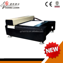 Guangzhou HM-J1313 laser metal cutting machine price with ac servo motor