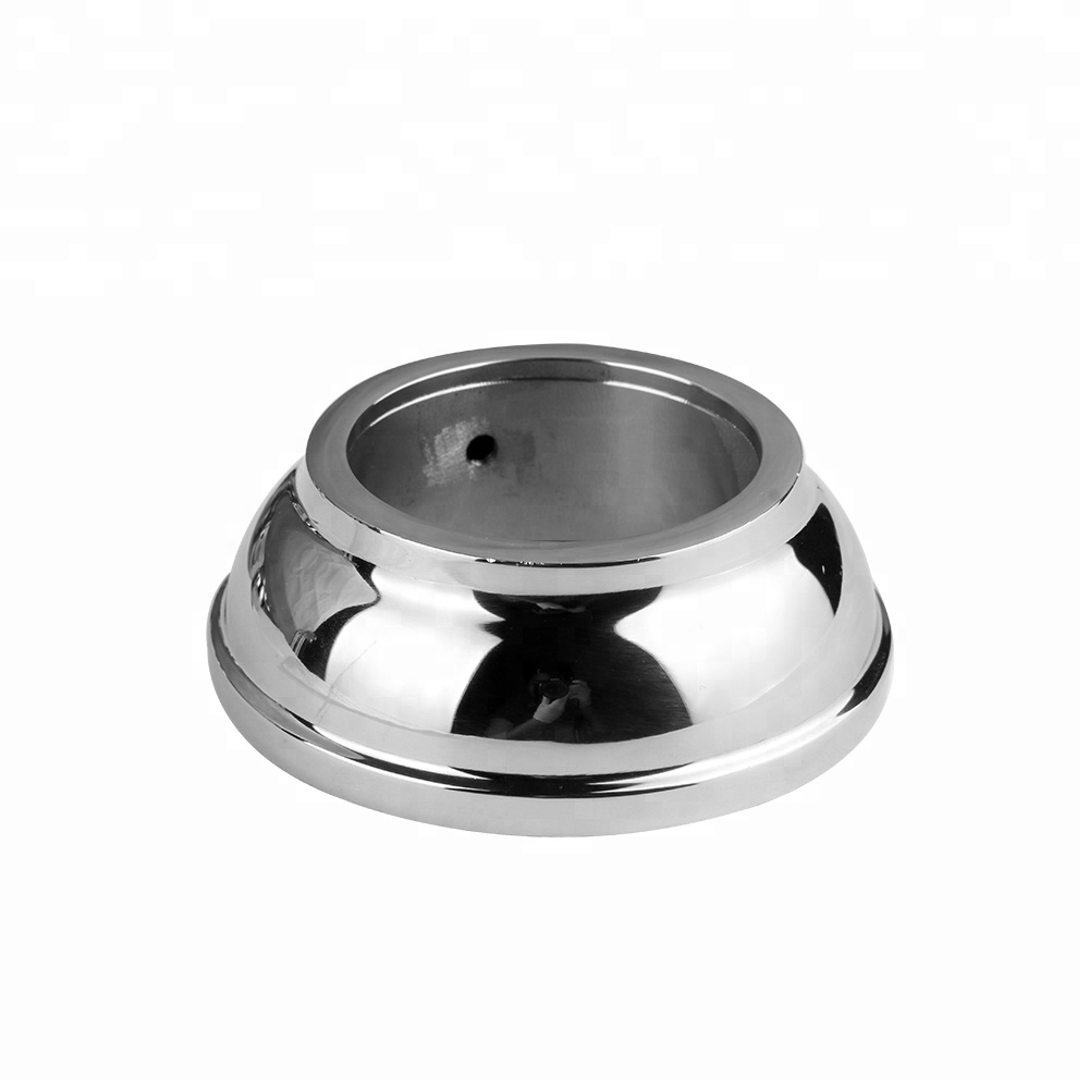 Stainless Steel 304 Handrail Round Tube Base Post Flange