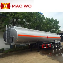 Large capacity Fuel Tanker , Diesel Tank Truck Trailer for Sale