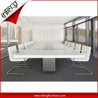 2016 Popular High Class Artificial Stone Modern Conference Table