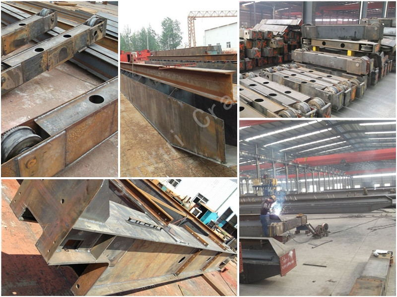 Construction 2 Ton Double Girder Widely Used Overhead Crane Hoist 20T European Style Bridge Traveling Crane For Sale