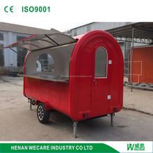 Commercial Outdoor dinner car portable Cheap gas hot dog cart