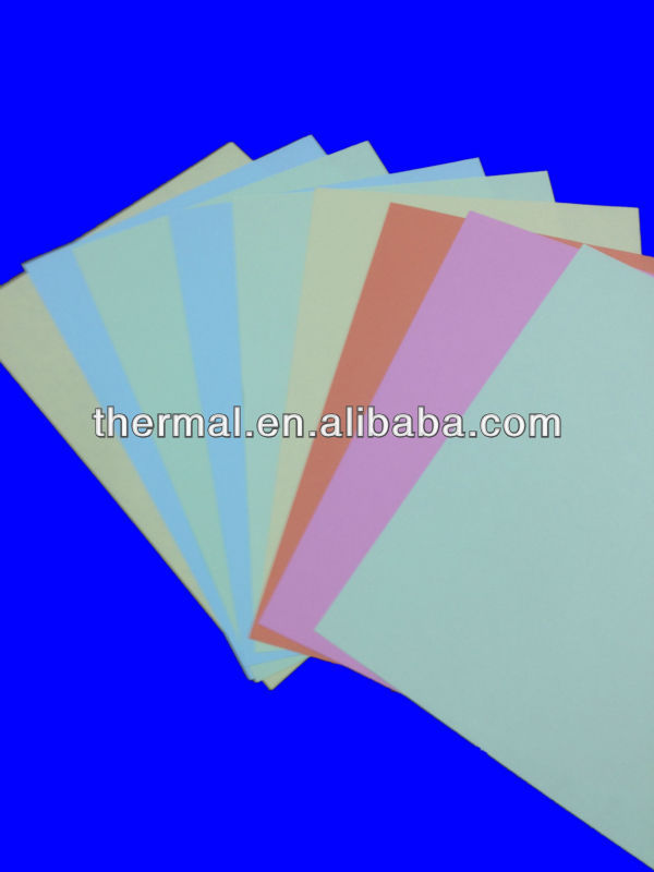 Street price of color card paper