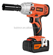 18v electric cordless impact wrench 1/2 used for replacing truck wheel