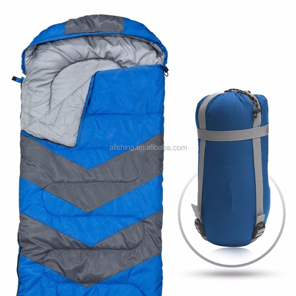Wholesale Camping Sleeping Bag /Envelope Lightweight Portable, Waterproof, Comfort With Compression Sack