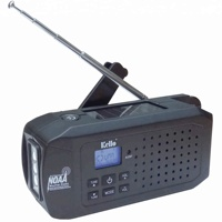 Emergency Kits Essential Solar Hand Crank AM/FM/SW/NOAA Weather Band Radio With LED Flashlight and Power Bank