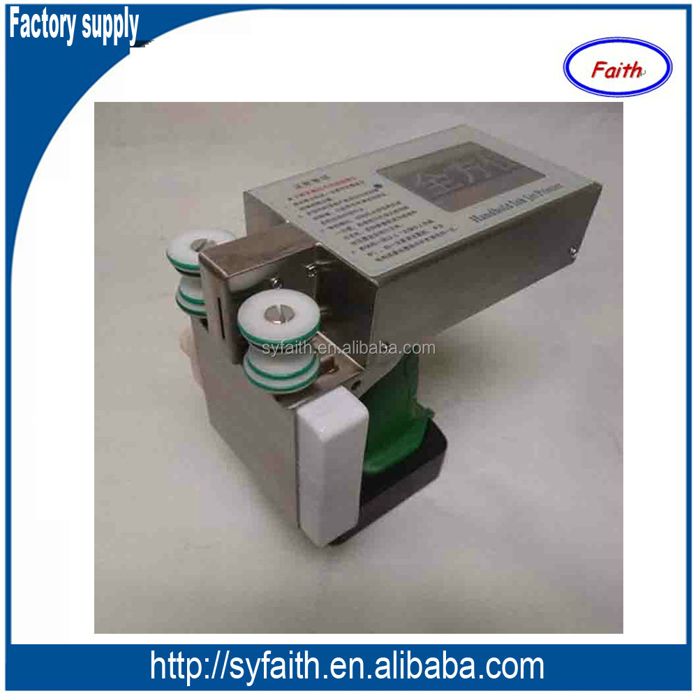 Factory supply low cost Hand Packaging Coding Solution Inkjet printer for metal, plastic, wood, aluminum foil, cartons and cable