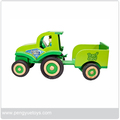 Promotional wooden toy funny wooden car PY1834