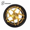2 Piece forged deep dish alloy aftermarket rims