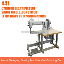 SHENPENG 441 cylinder bed walking foot sewing machine industrial