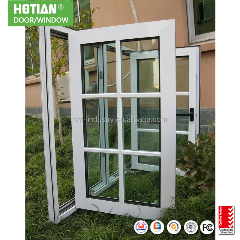 High Quality PVC Grills Window Design Modern Window Protections Plastic Window Spacers