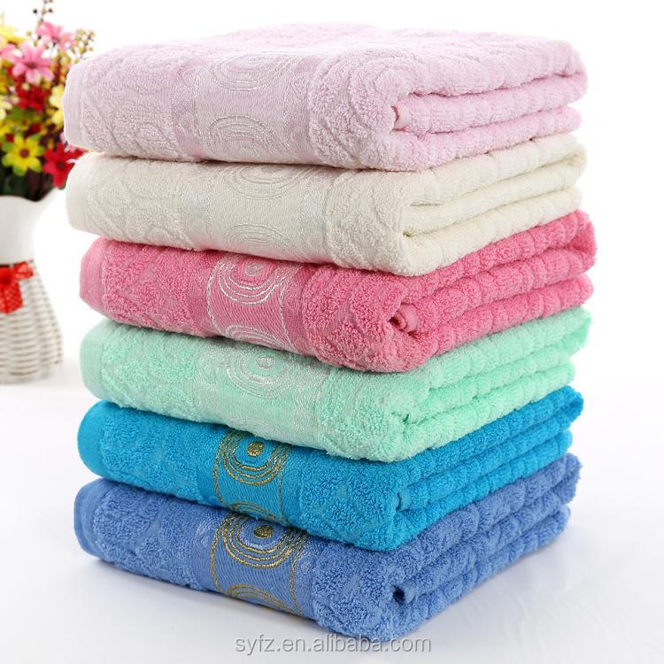 hotel supply 100% cotton magic mini portable beach towel pure natural beach towel