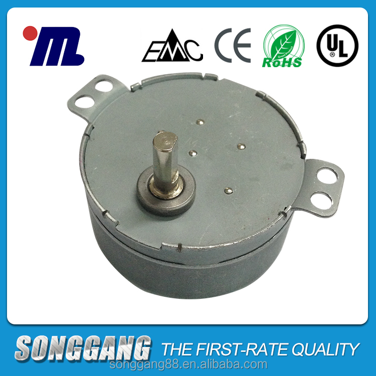 49tyd AC synchronous motor for turntable SD-83-513 with 4w from Taiwan