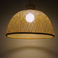 Factory Creative Design Cany Bamboo Lampe