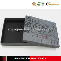 Mobile black carton box art design ,rectangle design jewellery gift box ,Corrugated Full Color Print