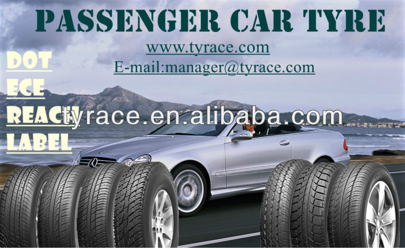 passenger car tires ECE,DOT,REACH,LABELING approved