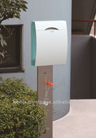 aluminum free standing mailbox , light and strong mailbox