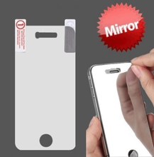 Colorful Mirror Tempered Glass Front + Back Screen Protector for IPHONE 5 / 5S / 6