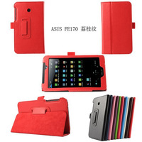 folding standing pu leather case for asus fonepad 7 inch fe170