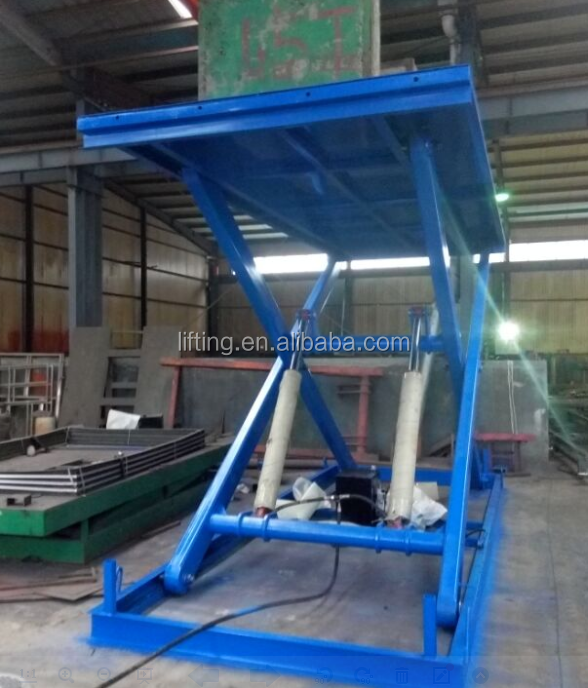 3ton scissor lift for the car