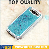 Flowing Star Hard Cover For Samsung Galaxy S3, For Samsung S3 Dynamic Liquid glitter star cases