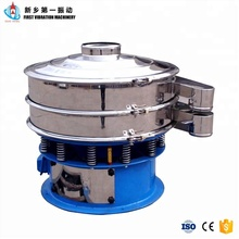 China Hot Sale Powder Circle Vibrating Screen Sifter Machine