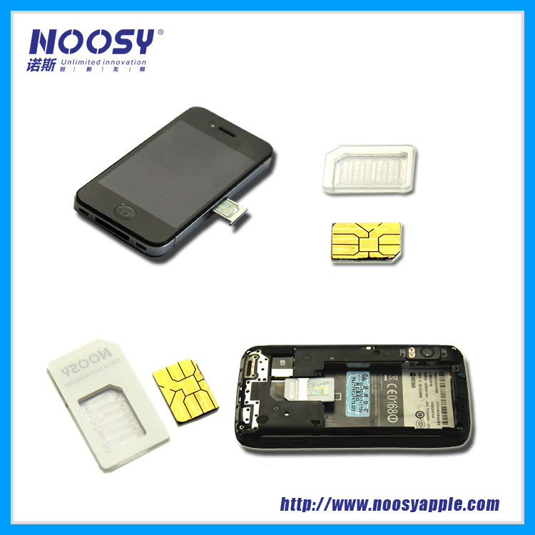 universal dual sim card adapter for mobile phone