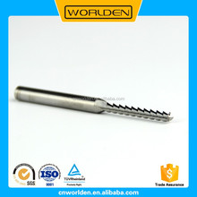 New design high quality end mill for aluminium alloy super hard end mills with low price