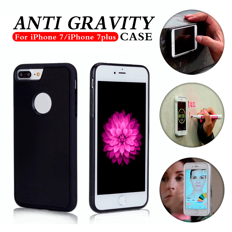 2016 New material nano antigravity case tpu pc combo case tpu pc phone case for iphone 7