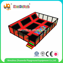 2016 kids cheap gymnastics wholesale long used bungee trampolines for sale
