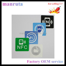 factory OEM Paper NFC Blank Sticker Printable and Programmable