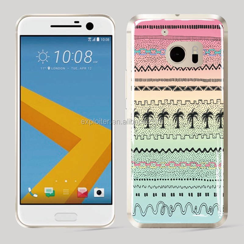 China ultra-thin soft plastic epoxy cell phone case for htc one m8 case
