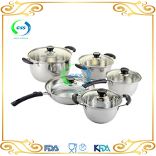 free samples 10pcs kichen cooking pot sets for home cooking