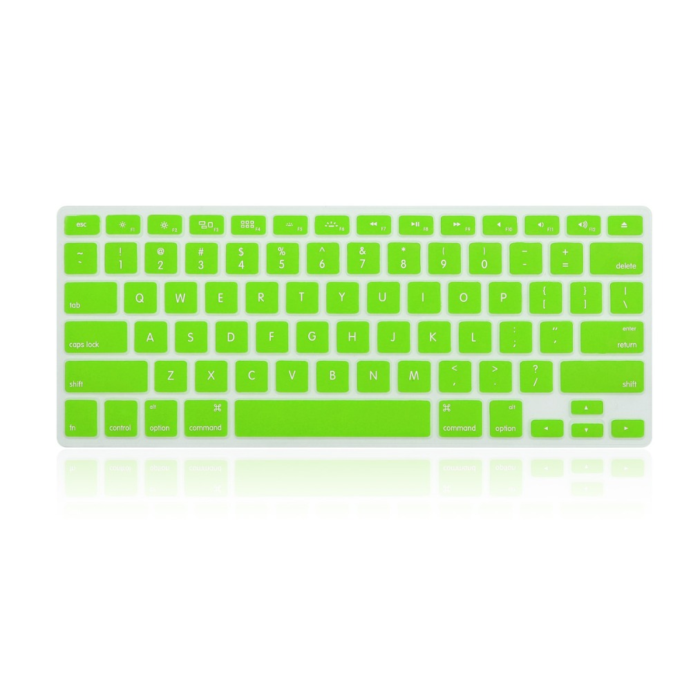 Best quality Silicone material keyboard protective cover case for Macbook laptop