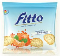 Fitto (light flavoured rolls) with seafood
