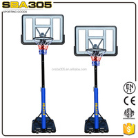 better ball response acrylic glass basketball backboard