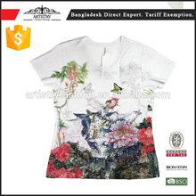 Different Models of types t shirts printing gold supplier