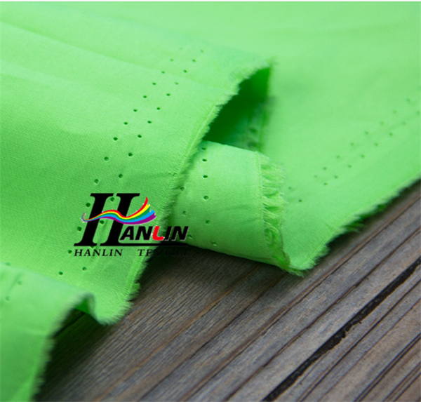 97 cotton 3 spandex twill solid dyed neon color fabric
