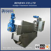 Wastewater Treatment Machine for tannery industry (MDS311)