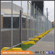 Aluminum 7ft 6ftx12ft portable panel 6' x 12' chain link fence panels