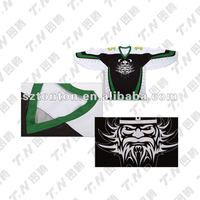 Custom made best selling ice hockey jersey