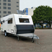 teardrop food caravan mobile caravan for easy tow