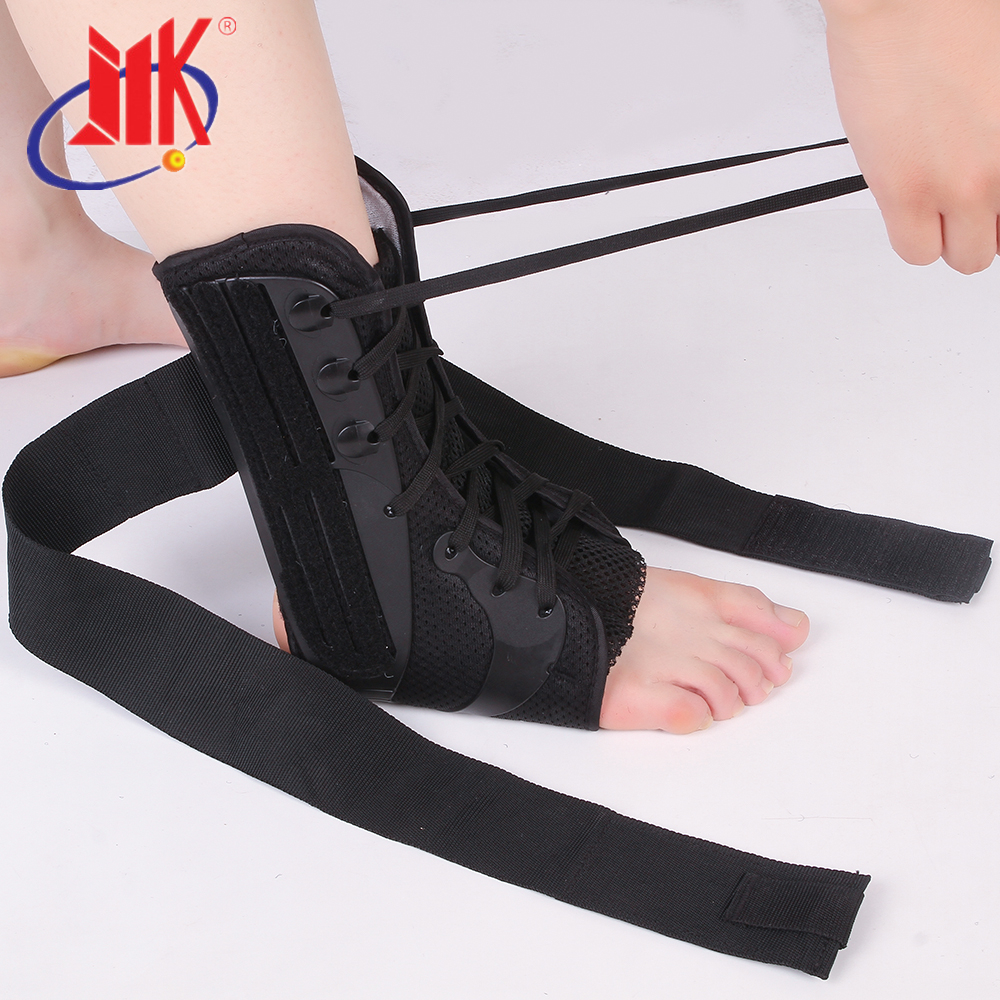Compression Ankle Brace - Medical Grade and CE Approved. Provides Support and Pain Relief for Sprains, Ankle support